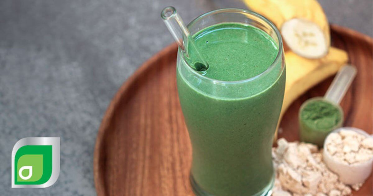 Alkalizing green jucie smoothie