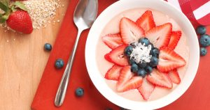Red White & Blue Smoothie Bowl